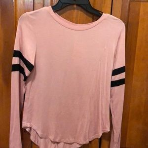Brand new pink long sleeve